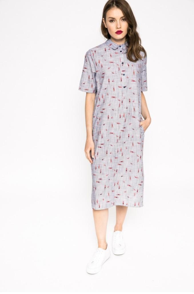rochie-camasa-gri-imprimeu